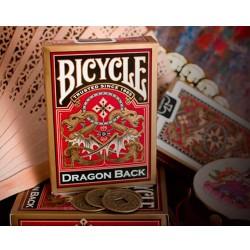 Jeu Bicycle Red Dragon