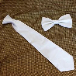 Instant Tie & Papillon White