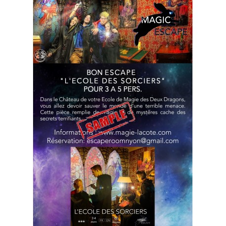 BON ESCAPE GAME L'ECOLE DES SORCIERS