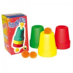 Cups and balls plastique