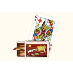 card into match box