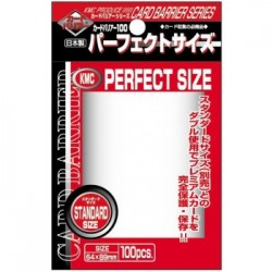 Protection cartes - KMC Standard Sleeves - Perfect Size (100 Sleeves)