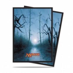 Protection cartes Marais - UP - Mana 5 Swamp (80 Sleeves)