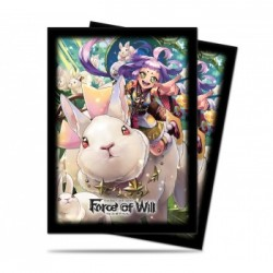 Protection cartes - UP - Force of Will - A4 Kaguya (65 Sleeves)