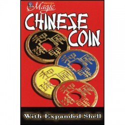 Expanded Chinese Shell w/Coin (rouge)