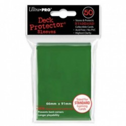 Protection cartes vertes - UP - Green (50 Sleeves)
